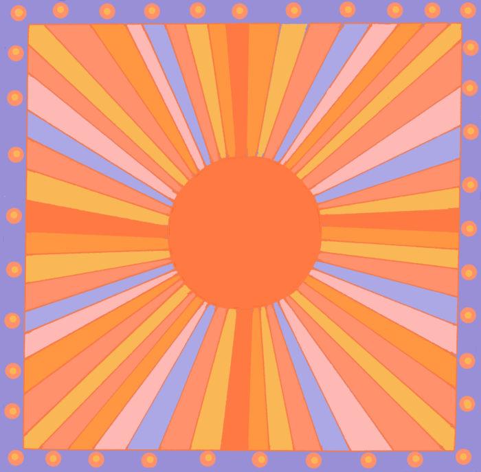 Sunburst/sunset