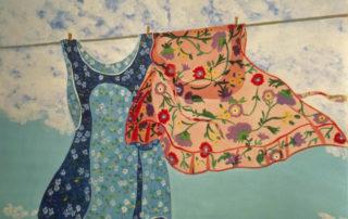 floral aprons