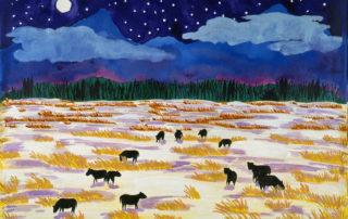 Taos night