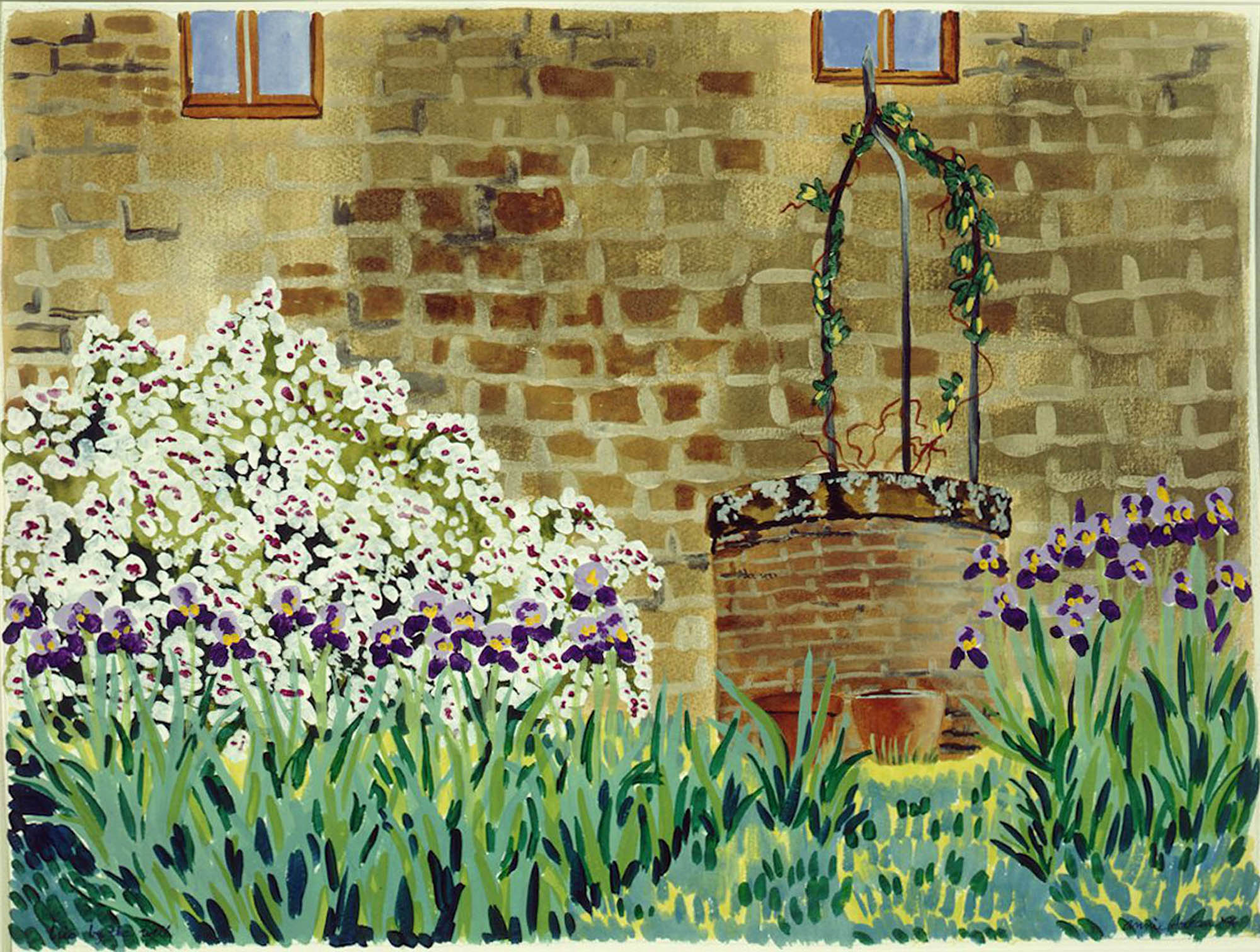 Iris by the Well