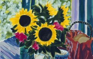 big sunflowers