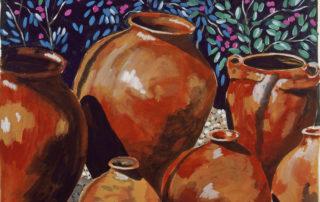 tropical pots