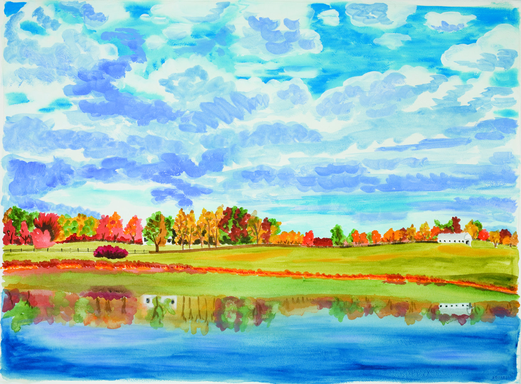 How To Paint A Beautiful Landscape Painting