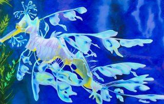 aqua sea dragon